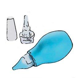 Aspiradores nasales y agua marina