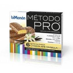 Bimanan Pro Choco Vainilla 6 Barritas