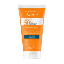 Avene Fluido Sin Perfume SPF50+ 50ml