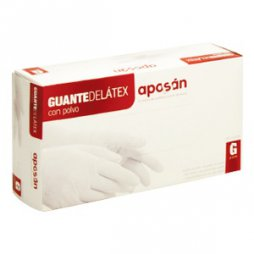 Aposan Guante Latex Grande