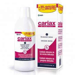 Cariax Gingival Enjuague 500ml +20%Gratis