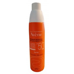 Avene Spray 200ml SPF50+ regalo gel de baño 100ml