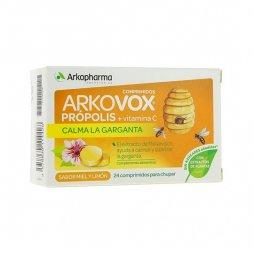 Arkovox Miel 24 Comprimidos