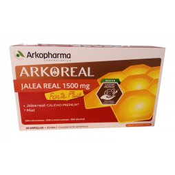 Arko Jalea Real 1500mg 20 Ampollas