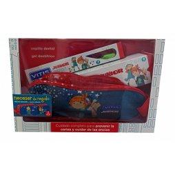 Vitis Junior Pack Cepillo +Gel 75ml + Regalo
