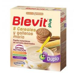 Blevit Plus 8 Cereales Galletas +5M 600g