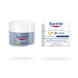 Eucerin Q10 Active Crema Noche Piel envejecida y sensible