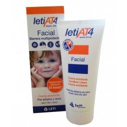 Leti At4 Facial crema emoliente Piel Atopica 100