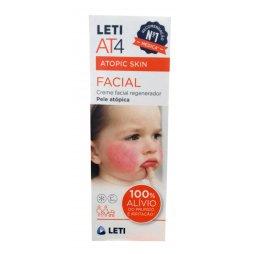 Leti  At4 Facial Crema Emoliente 50 ml