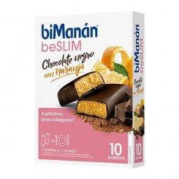 Bimanan Barritas Chocolate Negro/Naranja 8uds