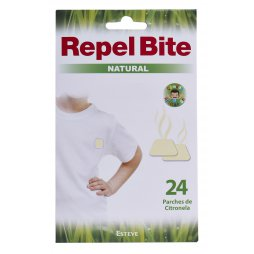 Repel Bite Parches Repelentes 24 Unid