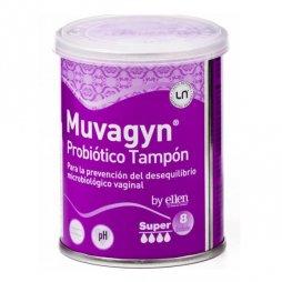 Muvagyn Probiótico Tampón Super Con Aplicador 9