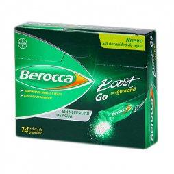 Berocca Boost Go 14 Sobres  (Sin Agua)