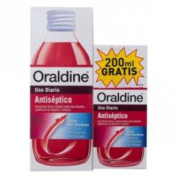 Oraldine Antiseptico 400ml+200ml gratis