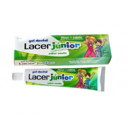 Lacer Gel Junior Menta