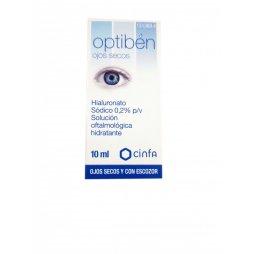 Optiben Ojos Secos-Escozor 10ml