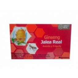 Arkoreal Jalea Real Ginseng 20 Ampollas