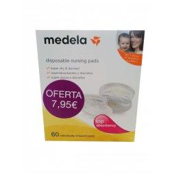 Medela Discos Absorbentes Desechables 60 Uds