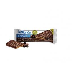 Bimanan Snack Choco/Negro Sin Gluten 20uds