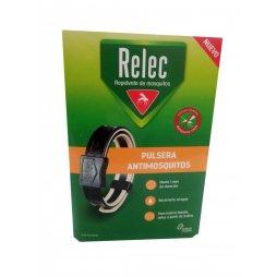 Relec Pulsera Antimosquitos Adulto Negra