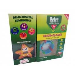 Relec Pulsera Antimosquitos Estrella + 2 recargas