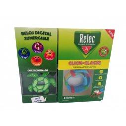 Relec Pulsera Antimosquitos Tortuga + 2 recargas