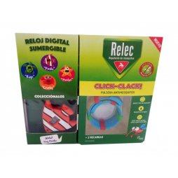 Relec Pulsera Antimosquitos Pez + 2 recargas