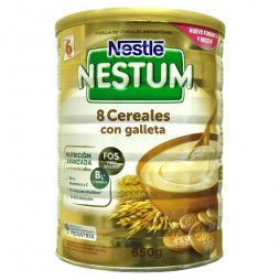Nestle Nestum 8 Cereales Galleta 650gr