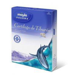Cartilago De Tiburon 500 Mg  30 Capsulas