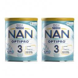 Nestle  Nan 3 Optipro Pack 2X800gr