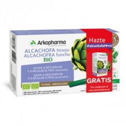 Arkofluido Alcachofa-Hinojo 10 Ampollas