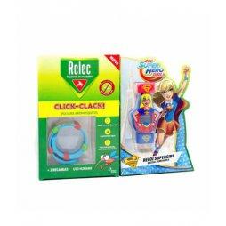 Relec Pulsera Antimosquitos Super Girl