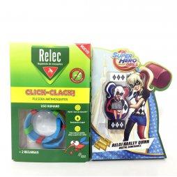 Relec Pulsera Antimosquitos Harley Quinn