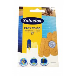 Salvelox Easy To Go 24 Unidades Latex