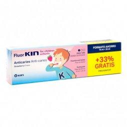 Fluor Kin niñoss Pasta 75ml+ 25ml