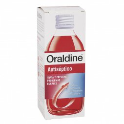 Oraldine Antiséptico 400ml Enjuague Bucal