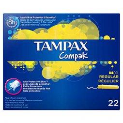 Tampax Compak Regular 22ud