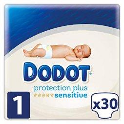 Dodot Sensitive Protección Plus Recién Nacido T1 2-5Kg 30uds