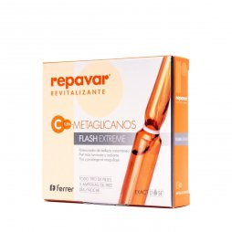 Repavar Meta Flash Extreme 5 Ampollas  de 1ml
