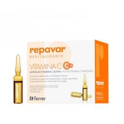 Repavar Revitalizante 20 Ampollas Vit C+3 Amp Antiaging