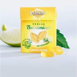 Juanola Perlas Limón Verde sin azúcar