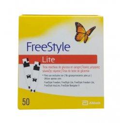 Tiras Reactivas Freestyle Lite 50ud
