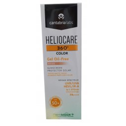 Heliocare 360º Color Beige Gel Oil-Free