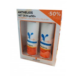 Anthelios Pack Wet Skin 50+SPF 2x250ml