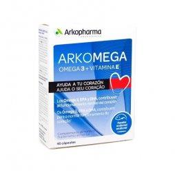 Arkomega 3+ Vitamina E 45 Capsulas