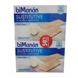 Bimanan Pack Barritas Yogur 8ud 2ªUD 50%