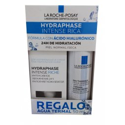 La Roche Hydraphase Rica + Agua Termal 50ml
