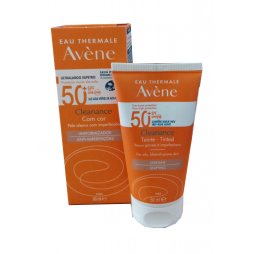 Avene Cleanance Solar SPF50+ con color 50ml