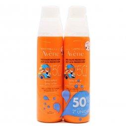Avene Spray niños SPF50 200ml 2ud 50%