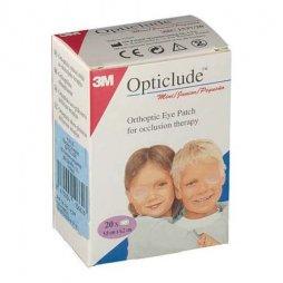 3M Opticlude Pequeño 20 Parches